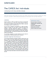 CARES Act: Implications for Individuals